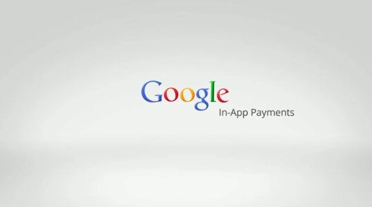 Google In-App Payments For The Web